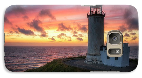 Galaxy Case featuring the photograph Lasting Light by Ryan Manuel