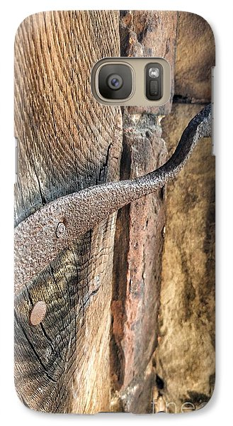 Galaxy Case featuring the photograph Latched by Isabella F Abbie Shores FRSA