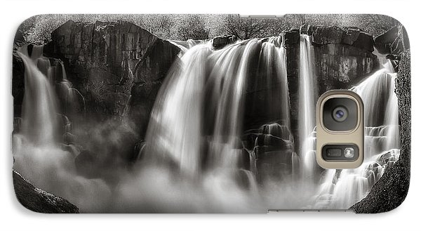 Galaxy S7 Case featuring the photograph Late Afternoon At The High Falls by Rikk Flohr