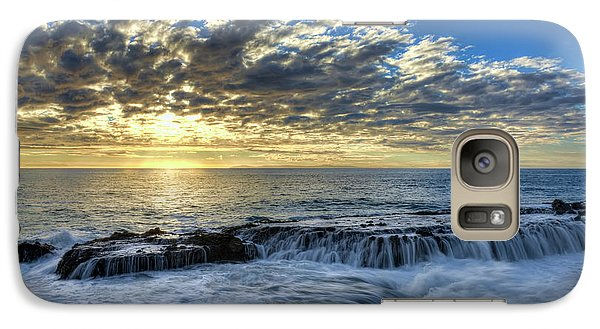 Galaxy Case featuring the photograph Late Afternoon In Laguna Beach by Eddie Yerkish