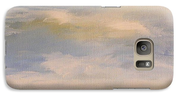 Galaxy Case featuring the painting  Late Afternoon In Vermont  by Laurie Rohner