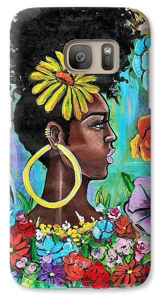 Galaxy S7 Case - Late Bloomer by Artist RiA