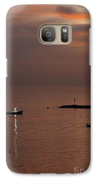 Galaxy Case featuring the photograph Late Evening by Viktor Savchenko