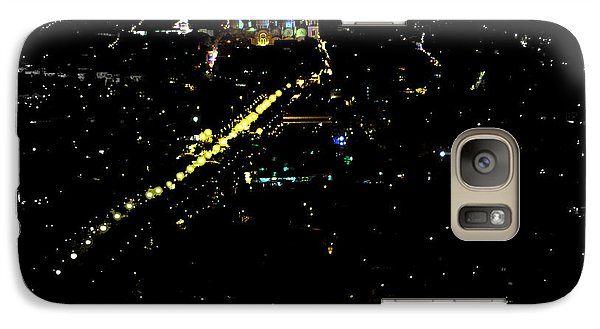 Galaxy Case featuring the photograph Late Night In Cuenca, Ecuador by Al Bourassa
