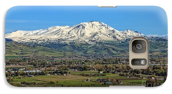 Galaxy Case featuring the photograph Late Spring On Squaw Butte by Robert Bales