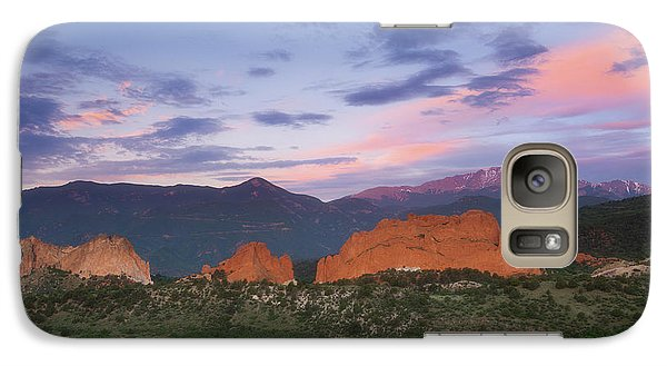 Galaxy Case featuring the photograph Late Spring Sunrise by Tim Reaves