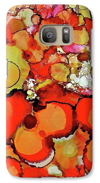 Late Summer Flowers Galaxy S7 Case