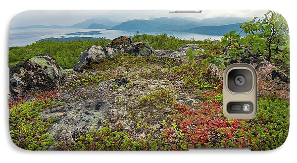 Galaxy Case featuring the photograph Late Summer In The North by Maciej Markiewicz