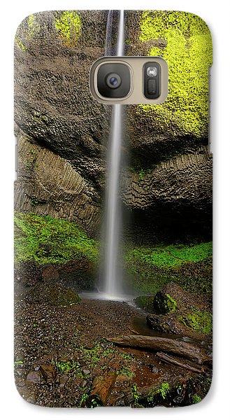 Galaxy Case featuring the photograph Latourell Falls by Jonathan Davison