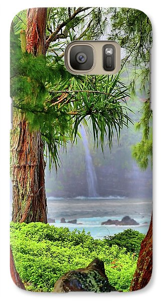 Galaxy Case featuring the photograph Laupahoehoe Hawaii by DJ Florek