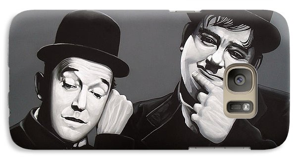 Laurel And Hardy Galaxy S7 Case by Paul Meijering
