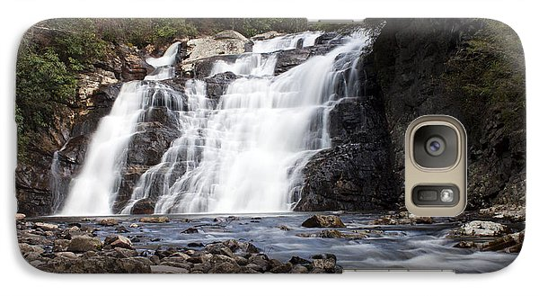Galaxy Case featuring the photograph Laurel Falls In Spring #1 by Jeff Severson