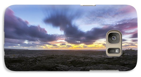 Galaxy Case featuring the photograph Lava Twilight by Ryan Manuel