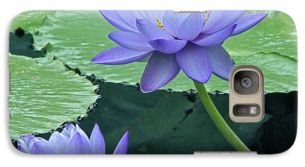 Galaxy Case featuring the photograph Lavender Enchantment by Byron Varvarigos