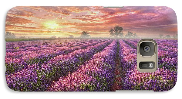 Mouse Galaxy S7 Case - Lavender Field by Phil Jaeger