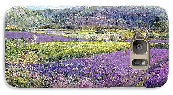 Rural Scenes Galaxy S7 Case - Lavender Fields In Old Provence by Timothy Easton