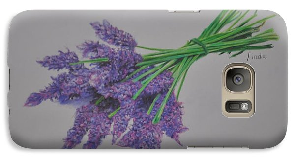 Galaxy Case featuring the pastel Lavender by Linda Ferreira
