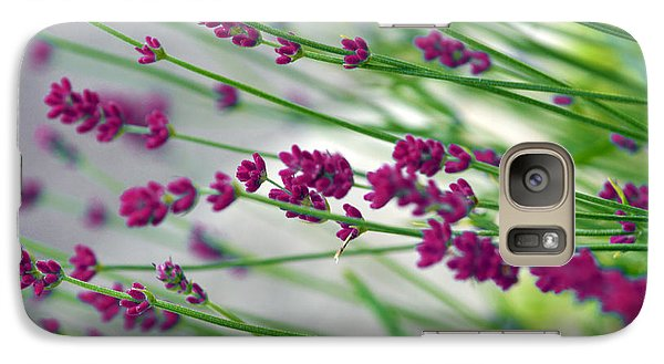 Galaxy Case featuring the photograph Lavender by Susanne Van Hulst