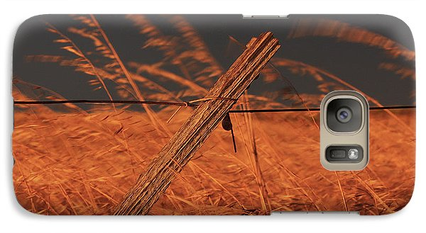 Galaxy Case featuring the photograph Lay Me Down In Golden Pastures by Marion Cullen