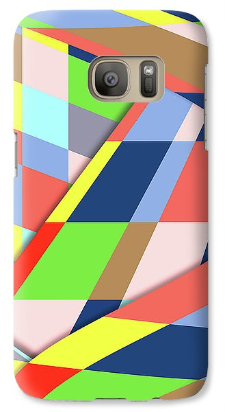 Galaxy Case featuring the digital art Layers 1 by Bruce Stanfield