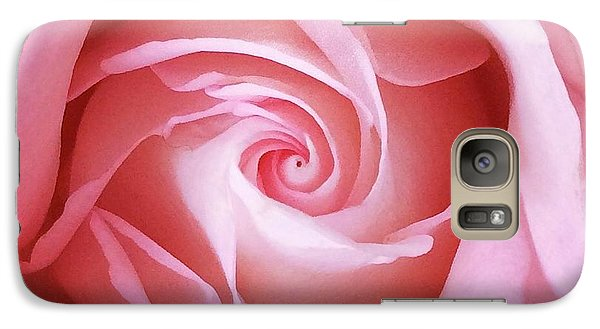 Galaxy Case featuring the photograph Pink by Colleen Williams
