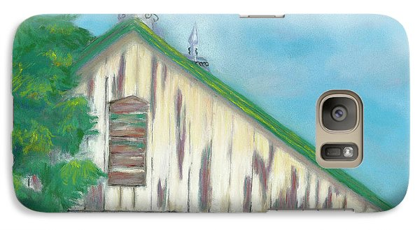 Galaxy Case featuring the painting Layers Of Years Gone By by Arlene Crafton