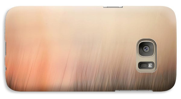 Galaxy Case featuring the photograph Laying Low At Sunrise by Marilyn Hunt