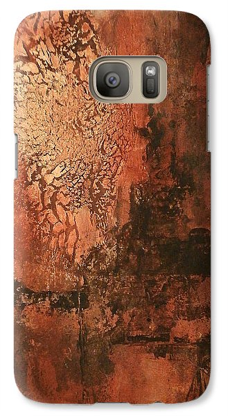 Galaxy Case featuring the painting Lazlow's Ghost by Buck Buchheister
