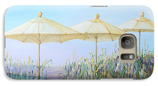 Galaxy Case featuring the painting Lazy Days Of Summer by Barbara Anna Knauf