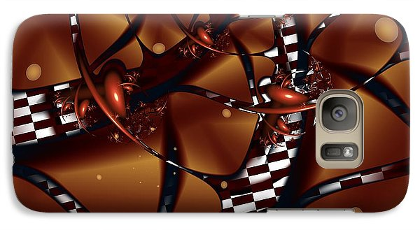 Galaxy Case featuring the digital art Le Chocolatier by Michelle H