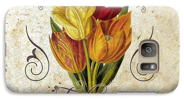 Le Jardin Tulipes Galaxy Case by Mindy Sommers