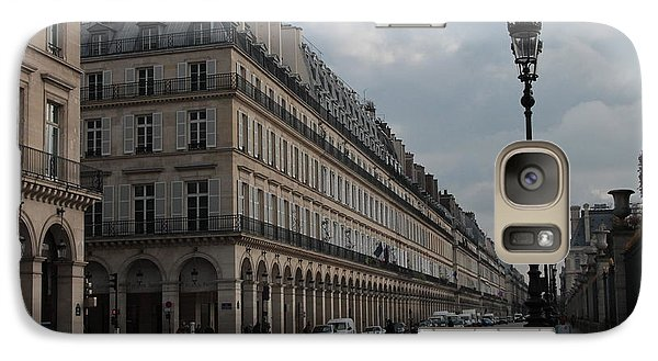 Galaxy Case featuring the photograph Le Meurice Hotel, Paris by Christopher Kirby