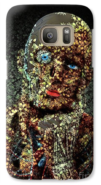 Galaxy Case featuring the digital art Le Penseur  by Aimelle