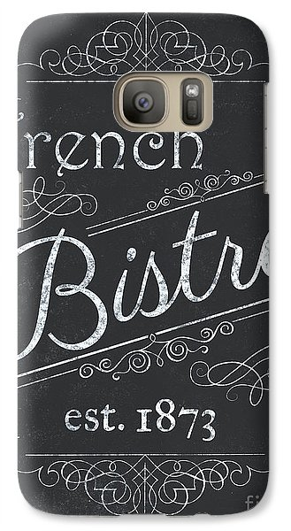 Galaxy Case featuring the painting Le Petite Bistro 4 by Debbie DeWitt