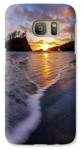 Galaxy Case featuring the photograph Lead The Way by Mike Lang