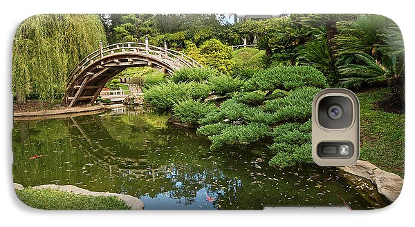 Lead The Way - The Beautiful Japanese Gardens At The Huntington Library With Koi Swimming. Galaxy S7 Case