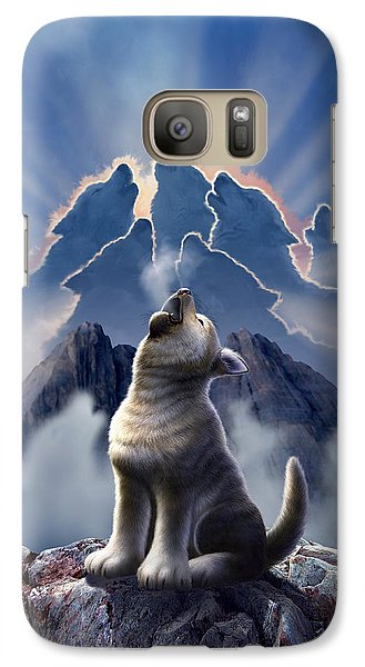 Leader Of The Pack Galaxy S7 Case by Jerry LoFaro