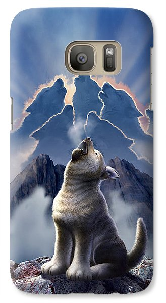 Mountain Galaxy S7 Case - Leader Of The Pack by Jerry LoFaro