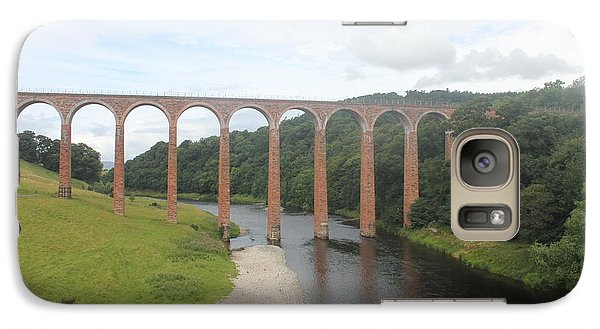 Galaxy Case featuring the photograph Leaderfoot Viaduct by David Grant