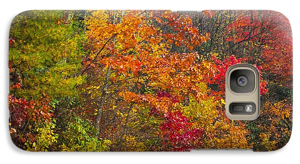 Galaxy Case featuring the photograph Leaf Tapestry by Rob Hemphill