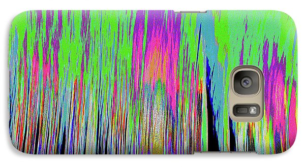 Galaxy Case featuring the photograph Leafless Trees by Tony Beck