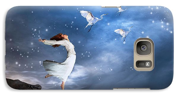Leap Of Faith Galaxy S7 Case