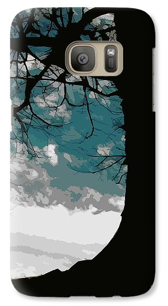 Galaxy Case featuring the digital art Leaping Spirit by Misha Bean