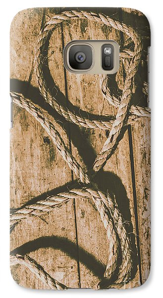 Galaxy Case featuring the photograph Learning The Ropes by Jorgo Photography - Wall Art Gallery