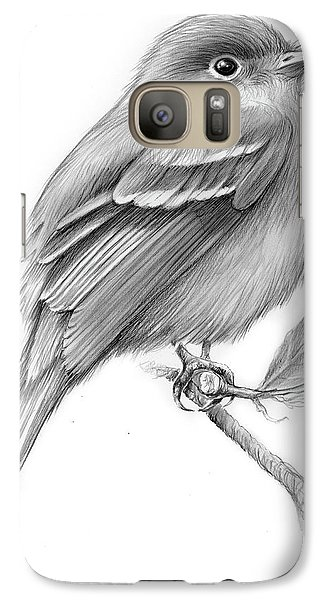 Flycatcher Galaxy S7 Case - Least Flycatcher by Greg Joens