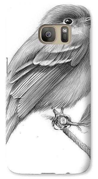 Least Flycatcher Galaxy S7 Case by Greg Joens