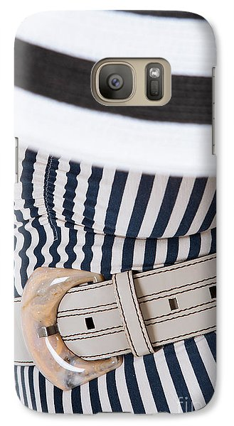 Galaxy Case featuring the photograph Leather Belt With A Buckle  by Andrey  Godyaykin