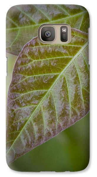 Galaxy Case featuring the photograph Leaves by Bob Decker