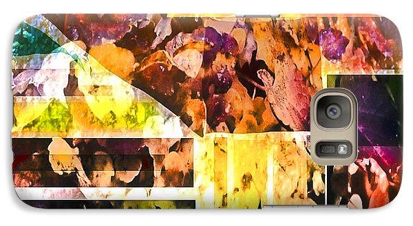 Galaxy Case featuring the digital art Leaves by Dale Stillman