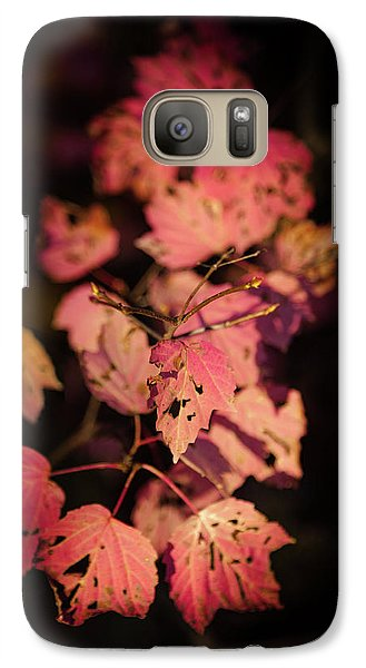 Galaxy Case featuring the photograph Leaves Of Surrender by Karen Wiles